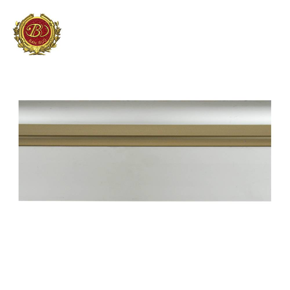 Banruo Factory Price European Style PS Polystyrene Skirting Decorative Baseboards For House Decoration