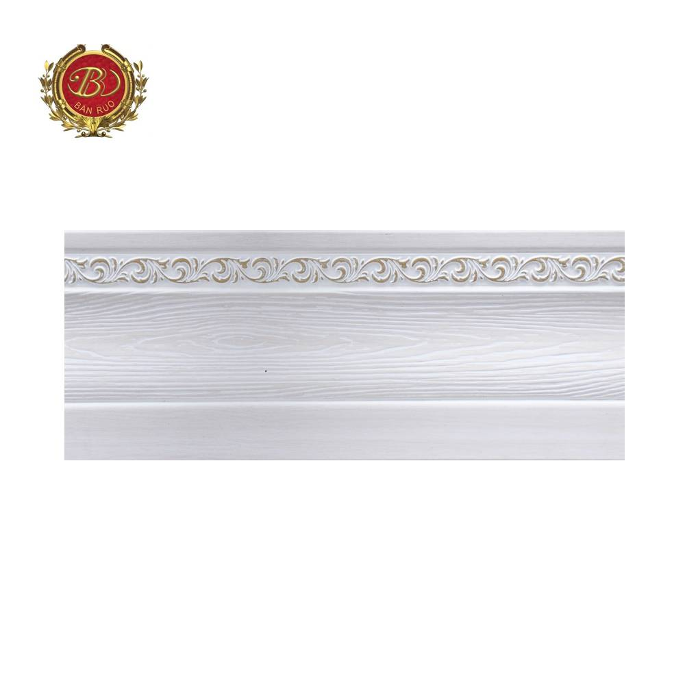 Banruo New Arrival European Style Cornice Skirting Moulding And Baseboard For Ceiling Decoration
