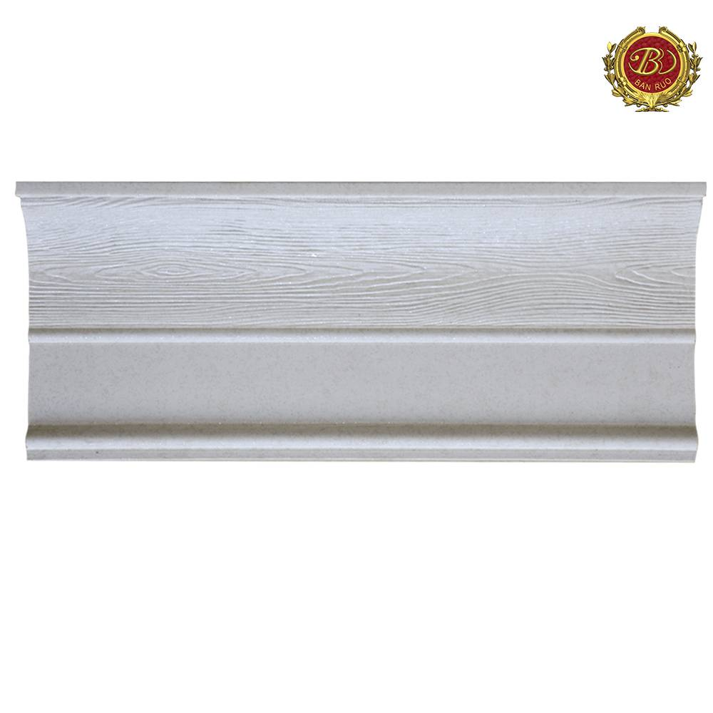Banruo PS Polystyrene Window Moulding Crown Molding For Window Decoration