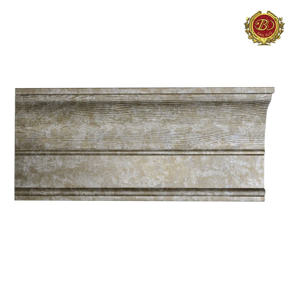 Banruo High Quality PS Modern Decorative Window Moulding Cornice For House Decoration