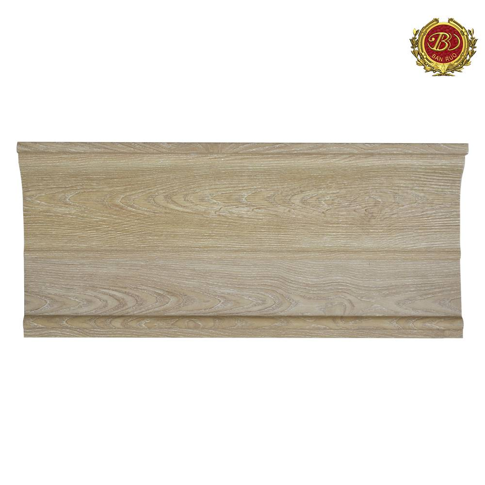 Banruo Wholesale European Style PS Polystyrene Crown Window Moulding For Interior Decoration