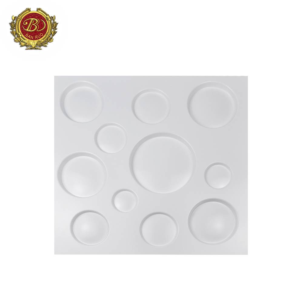 Banruo New Arrival Pop Easy To Install PVC Interior Design Wall Panels
