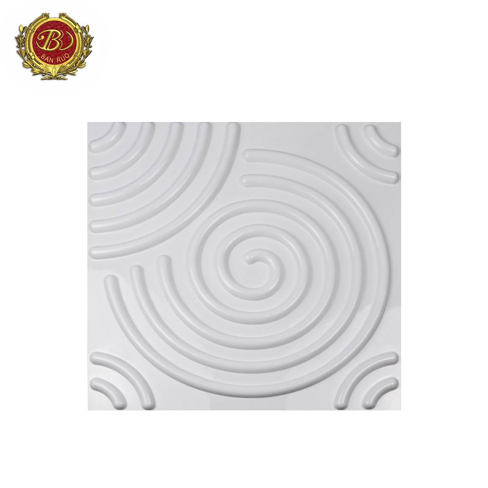 Banruo Low Price Fire Proof 3D Contemporary Wall Panesl For Interior Decoration