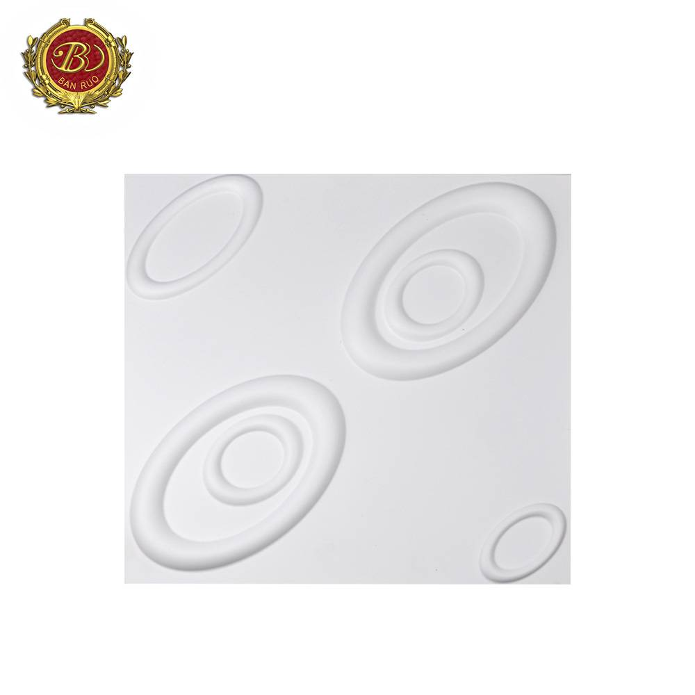 Banruo Whosale PVC Water Proof 3D Wall Panels  For Sale