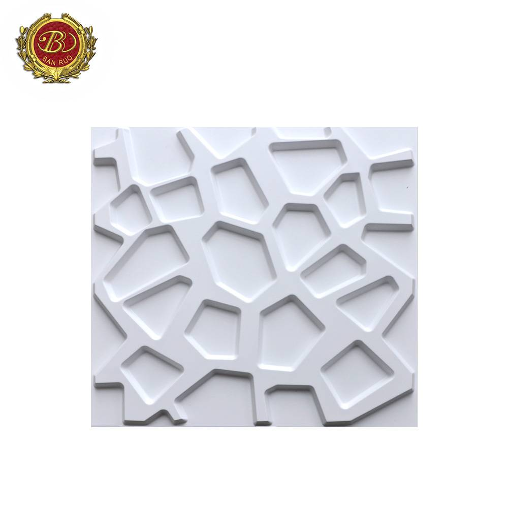 Banruo Factory Price Easy To Clean Pop PVC Inside Wall Paneling for Interior Decor