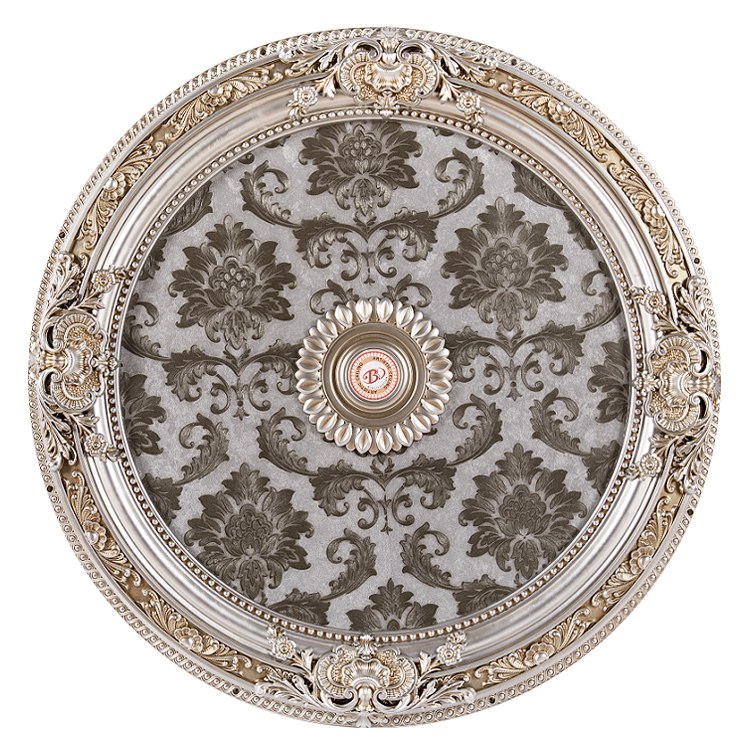 Banruo New Arriving Interior Decorative PS Interior Ceiling Panels Tiles Board Medallion For Room Ceiling Material