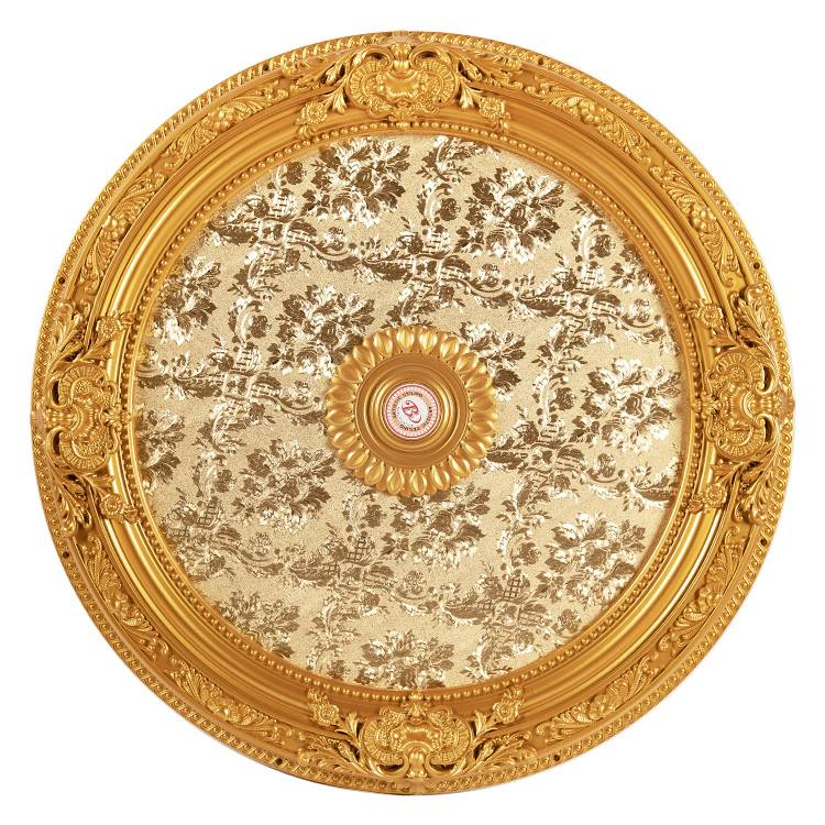 Banruo New Arriving Interior Decorative PS Cleanable Ceiling tiles Material Ceiling Medallion For Room Ceiling