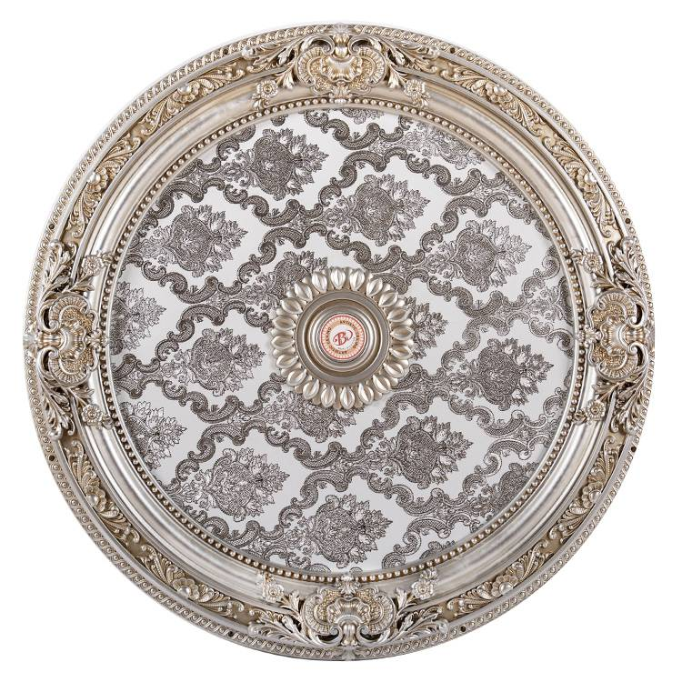 Banruo New Arriving Hotel Decorative PS House Ceiling Tiles Medallion Panel For Room Lighting Material
