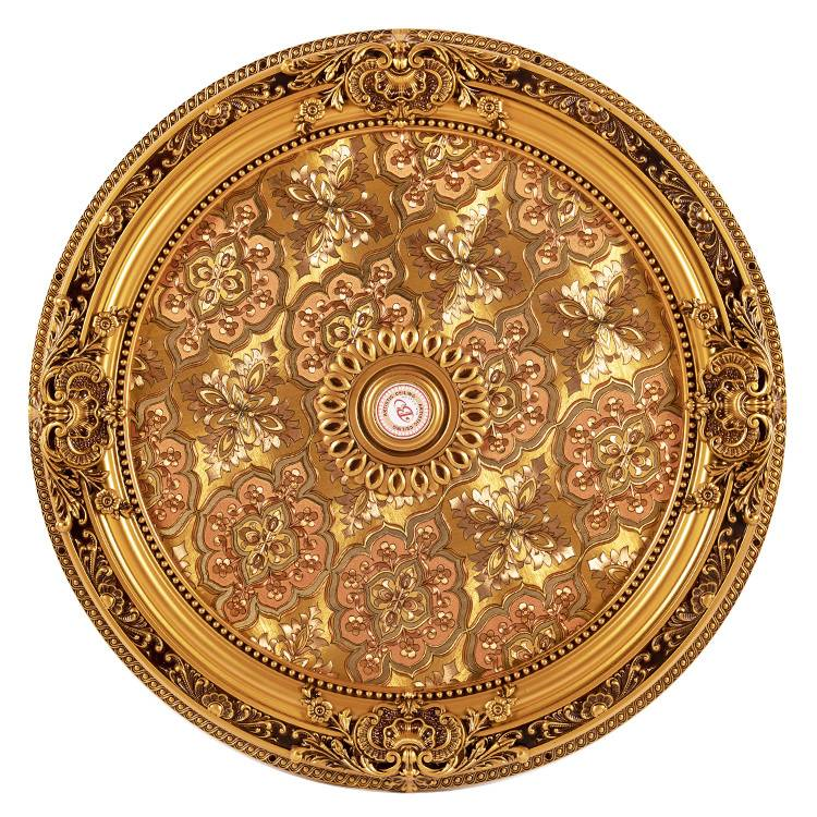Banruo New Arriving Interior Decorative PS Architectural Ceiling Panels Medallion For Room Lighting Material