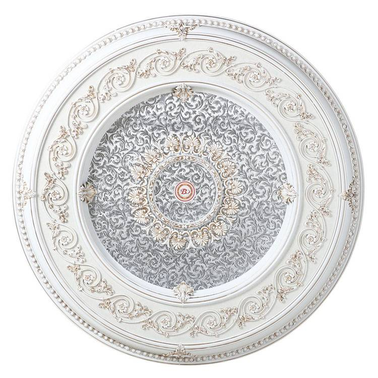 Banruo new style interior decoration PVC & PS art deco ceiling medallion for house building