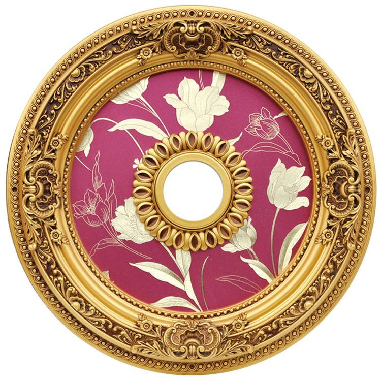 Banruo New trend interior decoration PVC & PS art deco ceiling medallion for house building