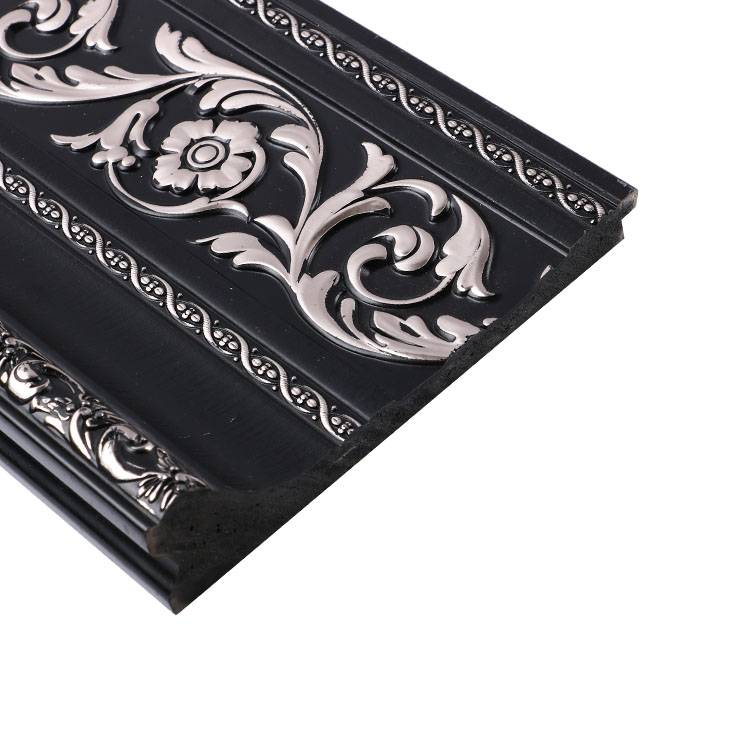 Banruo PS Polystyrene Baseboard Moulding Crown Molding Styles for Interior House Decoration
