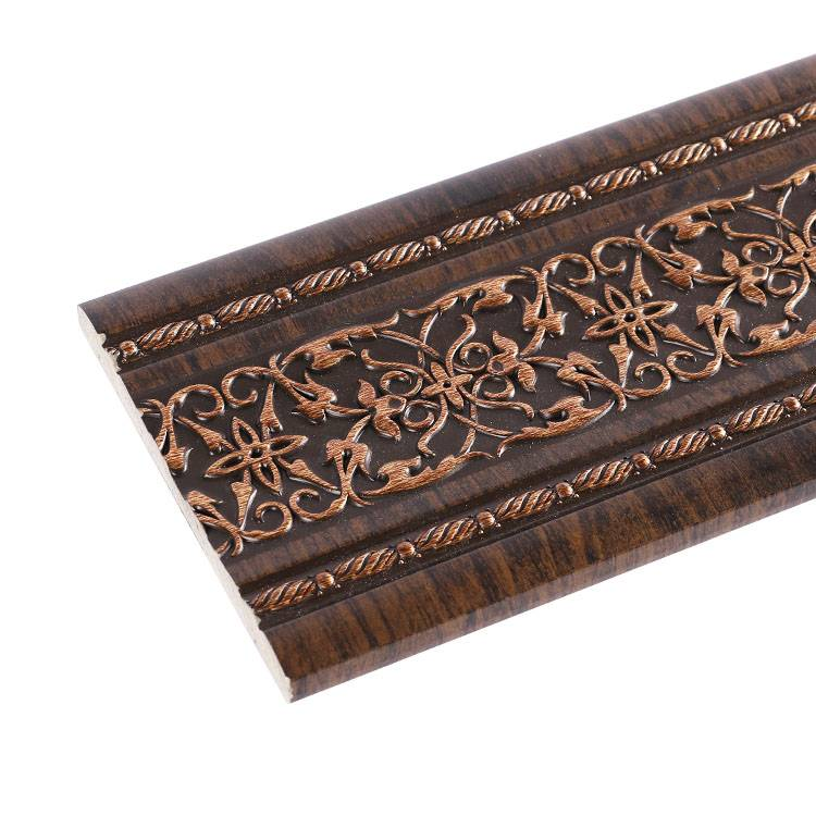 Banruo New PS Decorative Carved Wall Line Panel Cornice For Interior Decoration