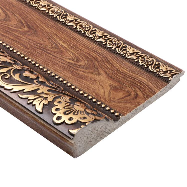 Banruo Decorative Molding Artistic Polystyrene Decorative Carved Curtain Line Ceiling Cornice For Interior Accessories