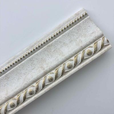 White Worn Pop Cornice Decorative Crown Moulding Crown Molding Styles