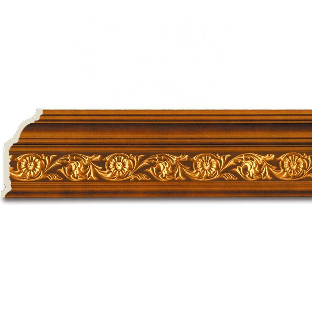 PVC PS Material Flower Baseboards And Moldings Decoration for Ceiling Wall