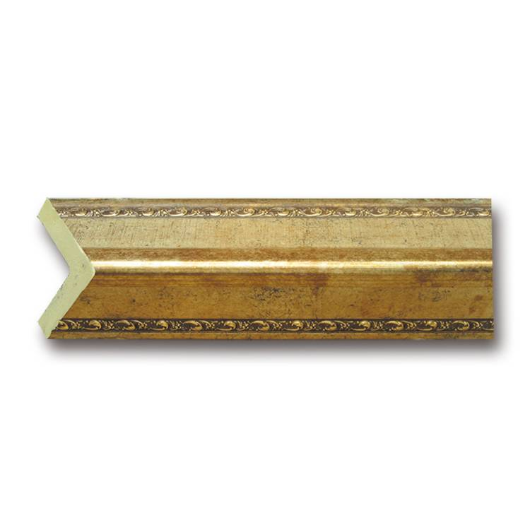 Banruo PS Wooden Color Craft Cornice Curtain Corner Home Crown Molding for Decoration