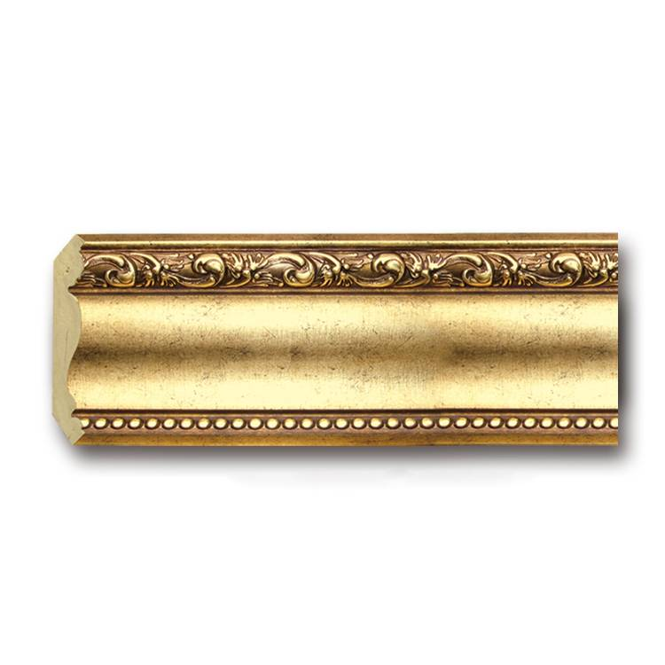 Banruo Classical 3D Plastic Wooden Color Frame Line Cornice Flexible Crown Molding Skirting Board for Building Decoration