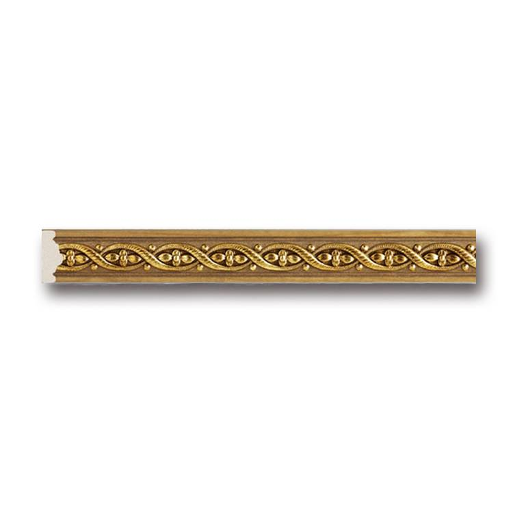 Banruo European style PS wood like decorative moulding window trim and molding line for building