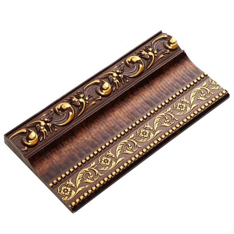 Banruo New Arrival Decorative Ceiling Cornice Moulding Embossed Picture Frame Moulding Line CE ISO9001