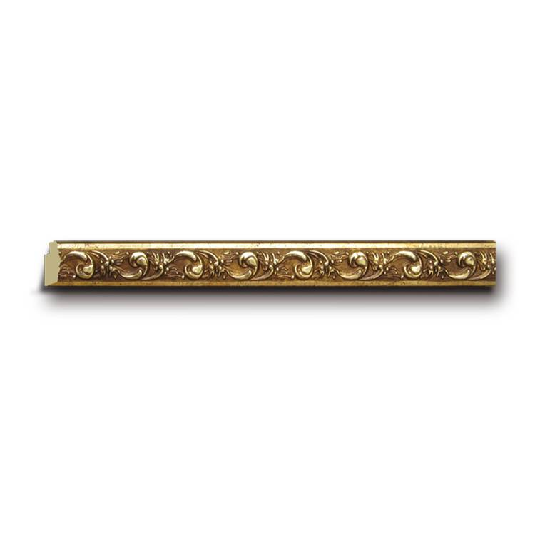 Banruo Carved Style Plastic PS Baseboard Corner Moulding Skirting Crown Moulding For Home Ceiling Decoration