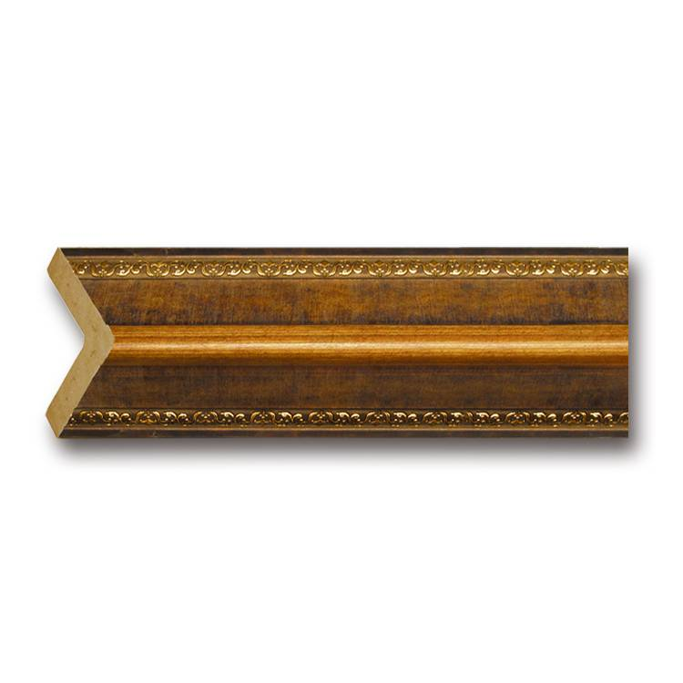 Banruo Classical Wooden Color Decorative Cornice Moulding Wall Corner Skirting Line For The room decoration