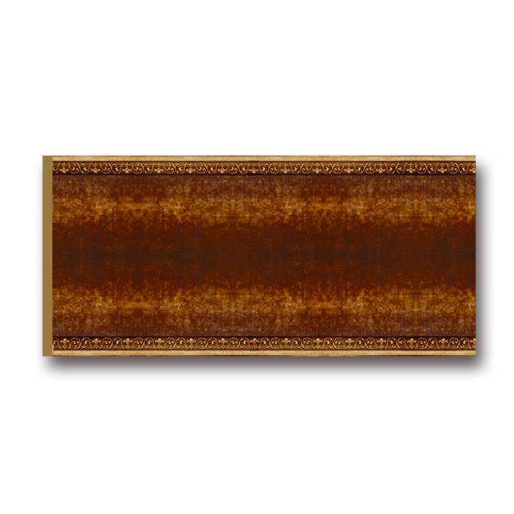 Banruo Classical European Decorative Wooden Color PS Cornice Wall Baseboard Mouldings Line For Living Room Decoration