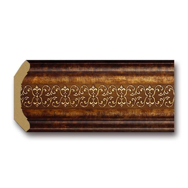 Banruo Pop Design PS Decorative Crown Molding Baseboard Ceiling Crown Moulding Cornice Line