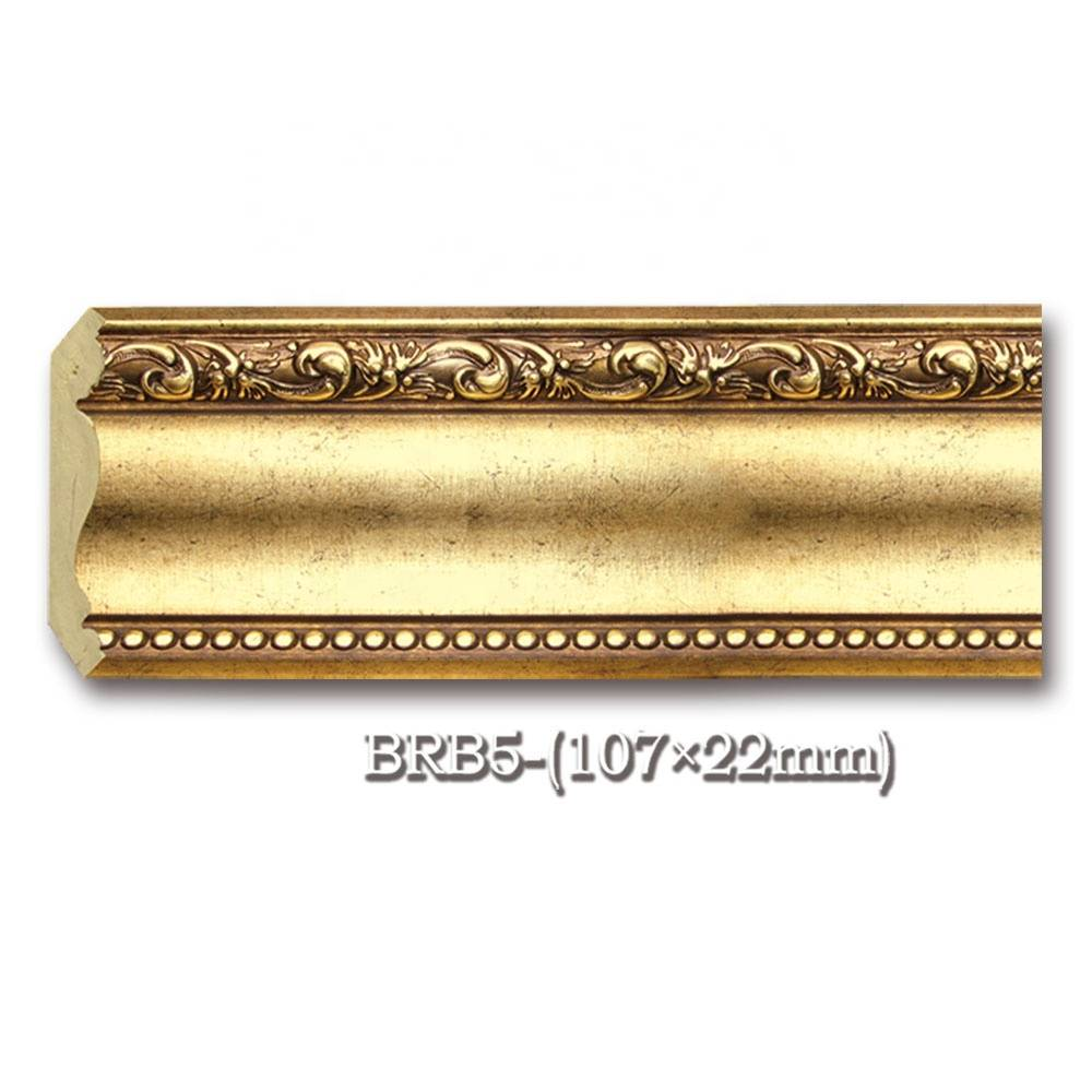 PS PU Plastic Modern Crown Molding Pop Cornice for Ceiling Wall Roof Decoration Crown & Skirting molding