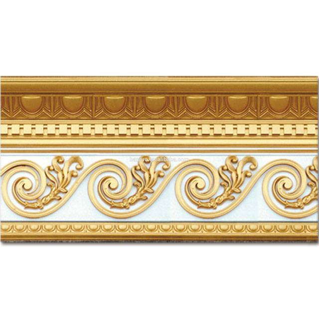 Banruo Classic Palace Style Carved Polystyrene Cornice Ceiling Moulding for Interior Decoration