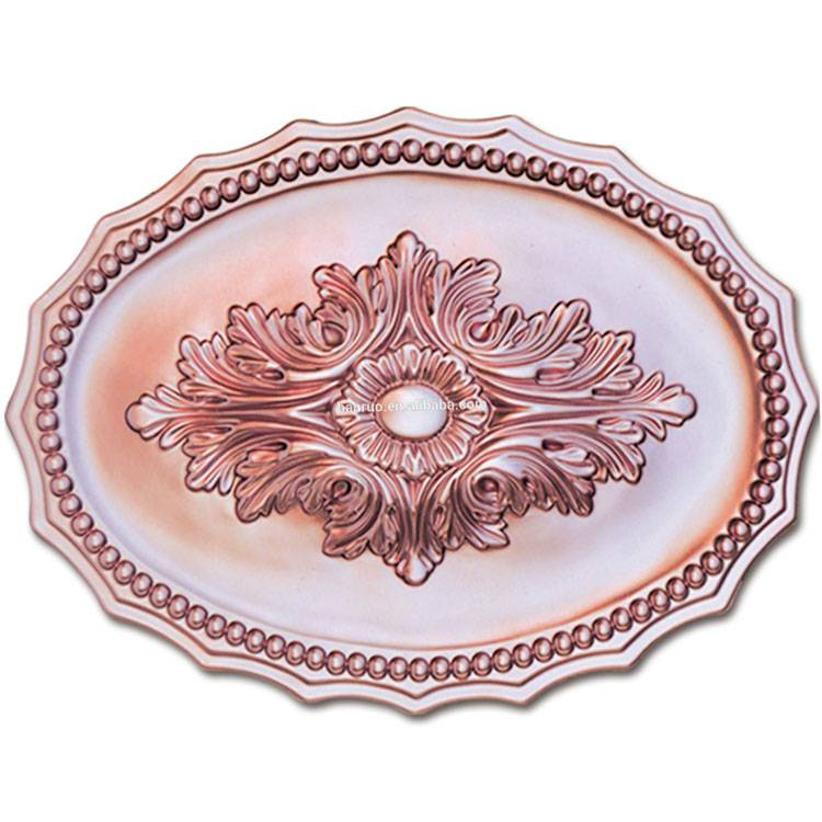 Banruo European Style PU Artistic Decorative Ceiling Tiles For Drop Ceiling