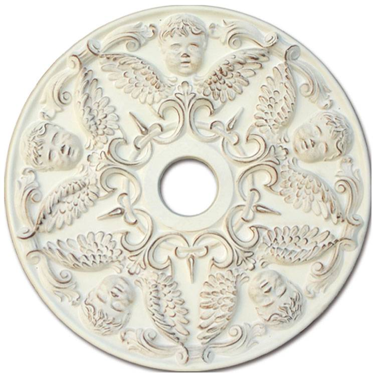 Banruo European Style Angle Design PU Artistic Decorative Top Wall Panel Types Of Ceiling Panel Tiles