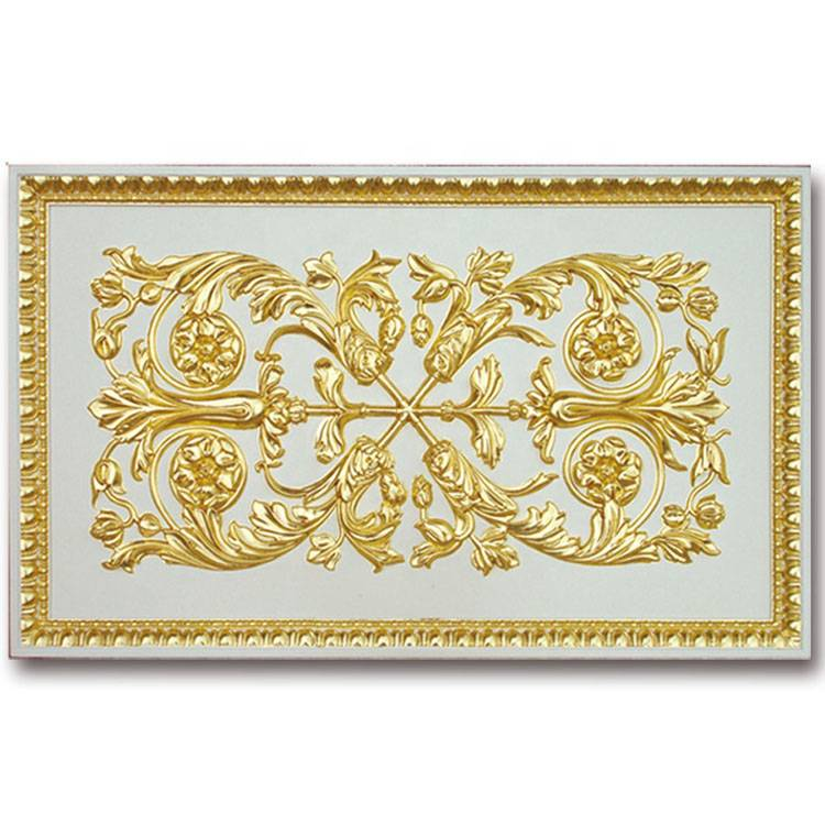 Banruo Classic European Style PU Polyurethane Decorative Wall Panels For Interior Wall Decoration