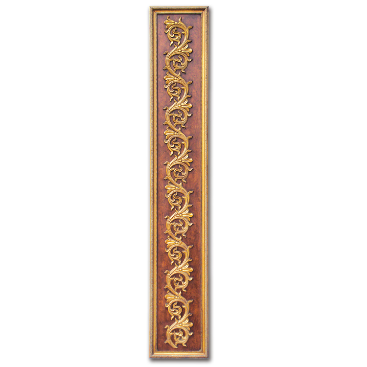 Banruo classical style artistic 3D carving plaque plastic affordable wall paneling molding decor arts wall panel