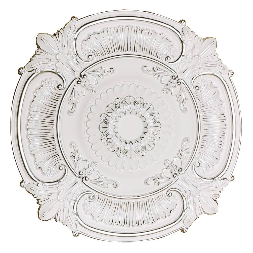 Banruo European Style White Nice Ceiling Tiles Medallion For Lighting Decor
