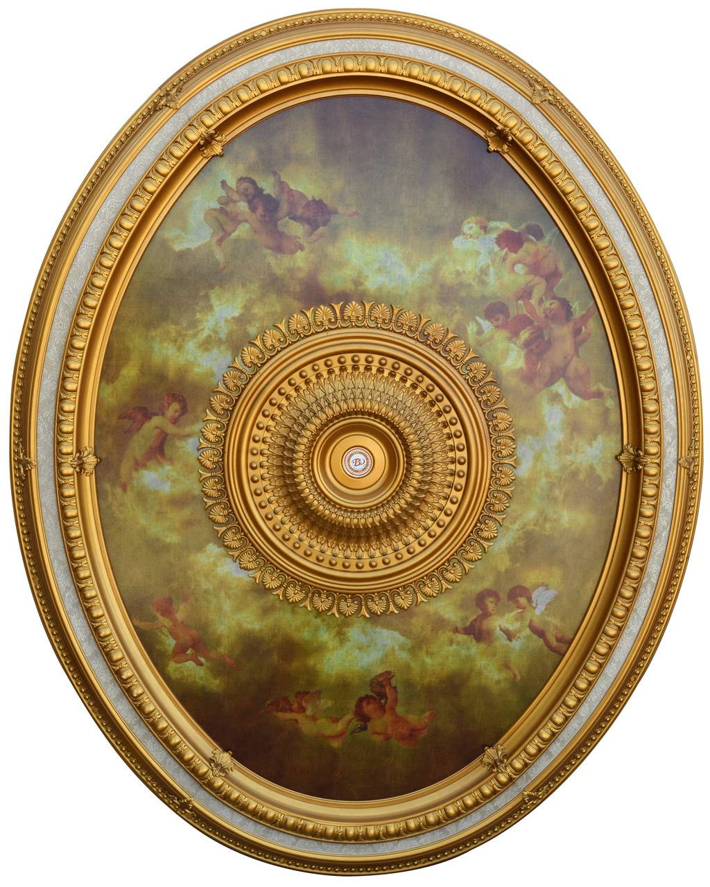 Banruo New Trend Interior decoration PS Simple Ceiling Medallion