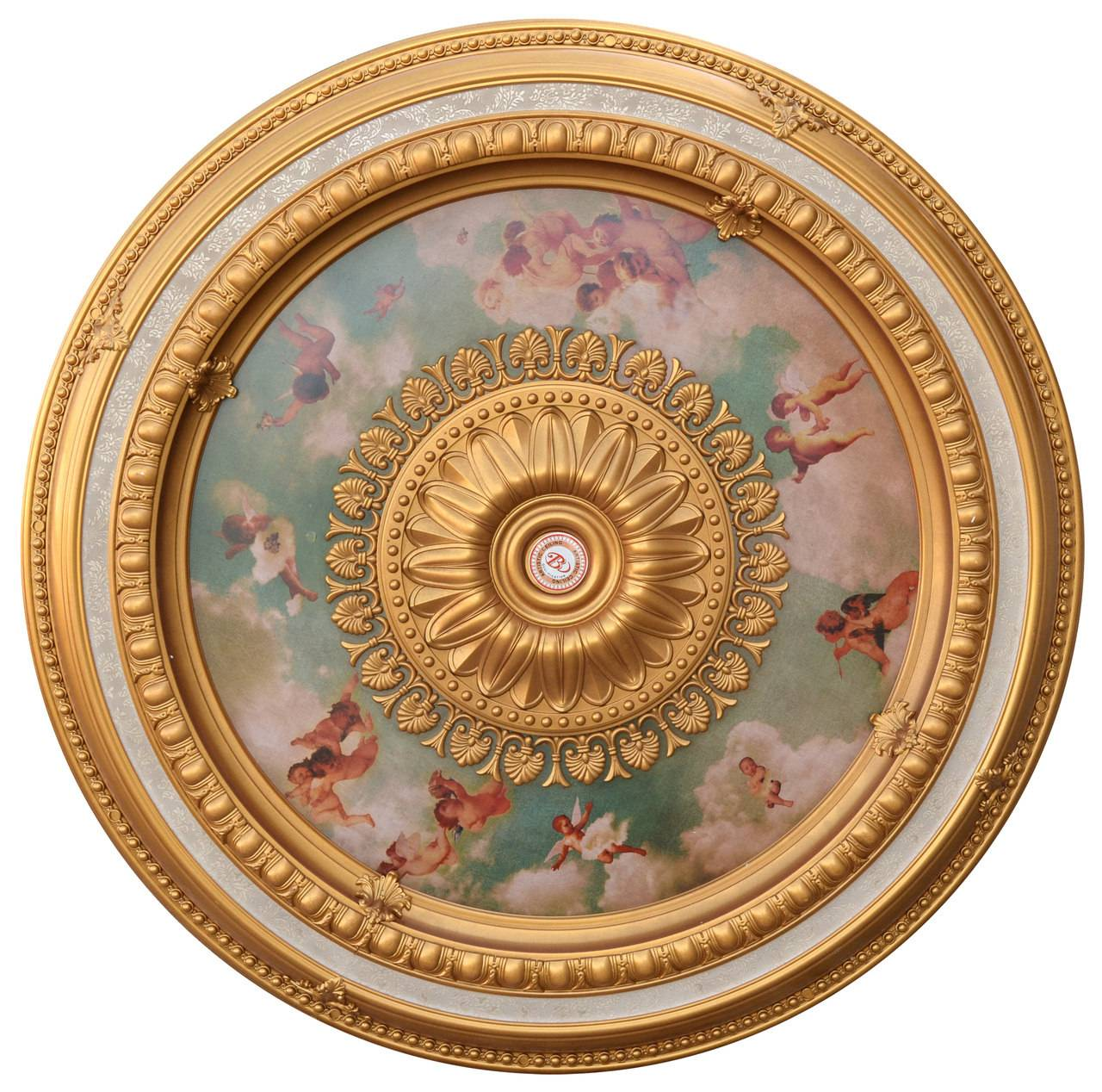 Banruo Beautiful Artistic Design Polystyrene Interior Art Deco Ceiling Medallion