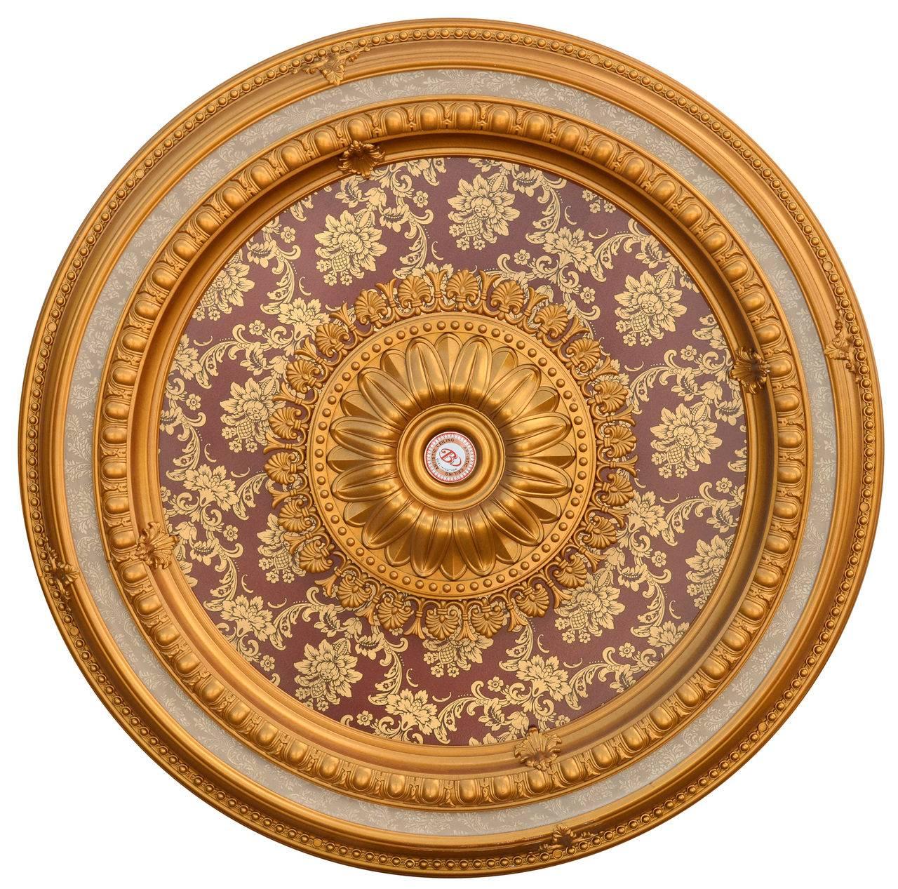 Banruo Modern Artistic Design Polystyrene Interior Decor Cheap Ceiling Medallions
