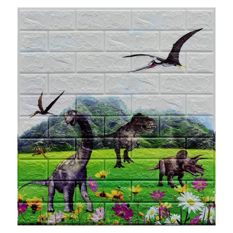 New 2020 Cheap TV Background Decoration Panel 3D Tile Wallpaper Foam Bricks