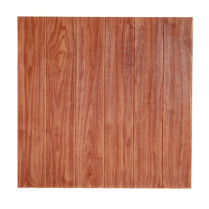 Wholesale 2020 Pop Wood Grain 3D Foam Wall Panels For Wall Decor