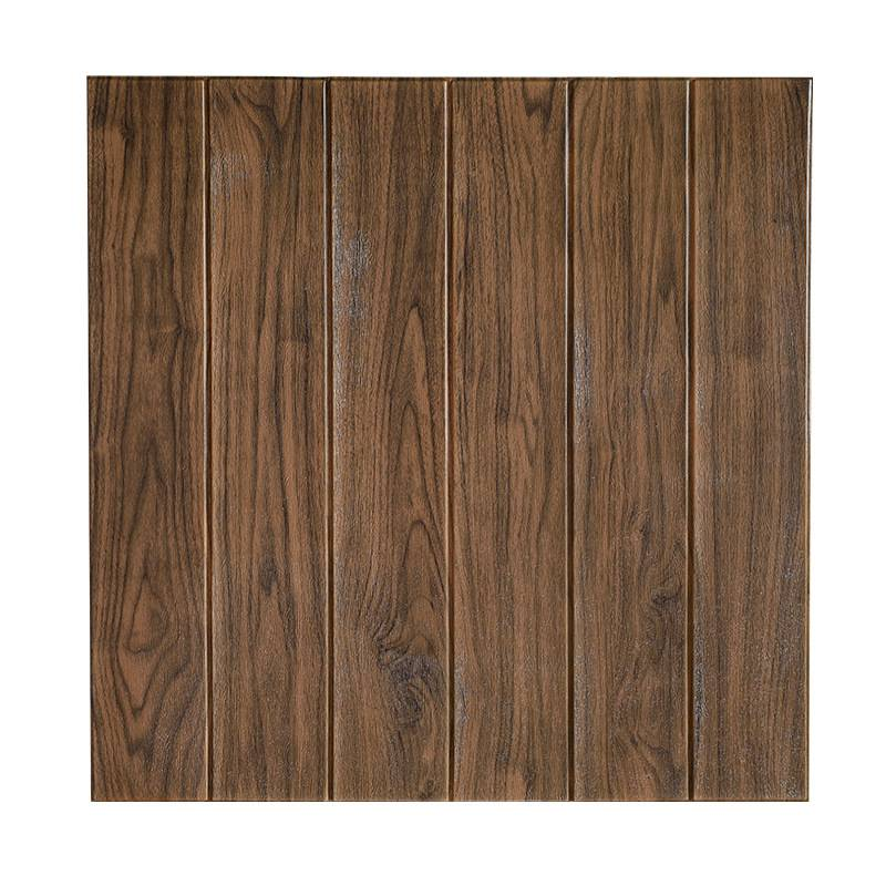 2020 Wholesale Wood Grain 3D Foam Wallpaper  Panels Home Decoration Brick