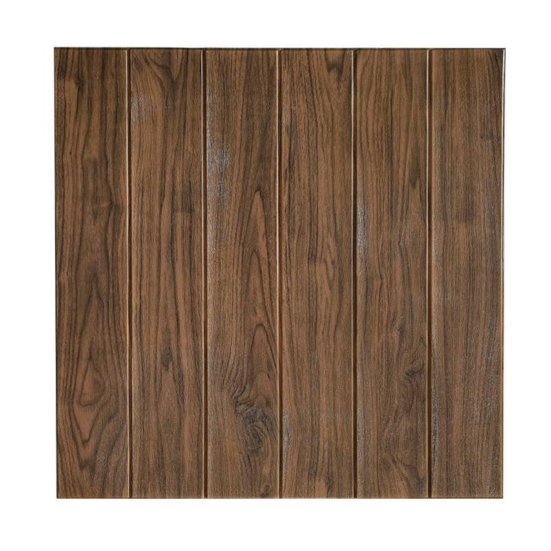 2020 Wholesale Wood Grain 3D Foam Wallpaper  Panels Home Decoration Brick